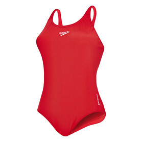 speedo Essential Endurance+ Medalist Swimsuit Women red
